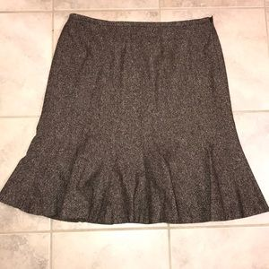Ann Taylor LOFT skirt & BR sweater bundle
